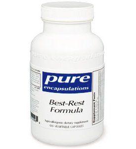 Pure Encapsulations - Best-Rest Formula 60 VegiCaps