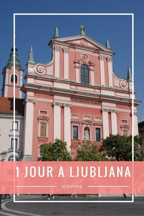 Le mini-guide complet pour découvrir le Centre-Ville de Ljubljana, la capitale de la Slovénie, en une journée