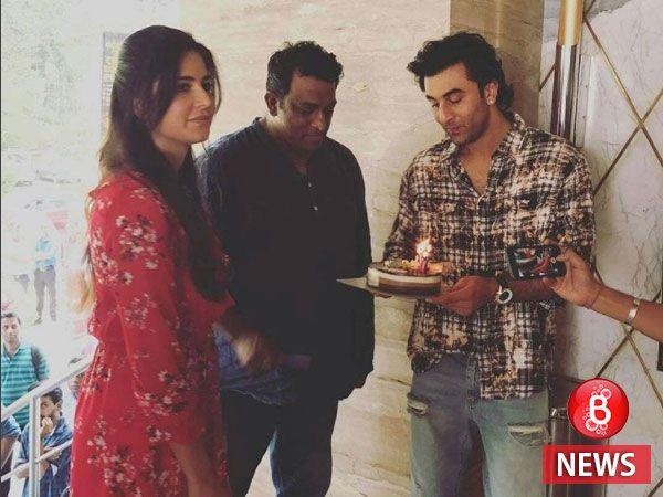 Clicked! Ranbir Kapoor and Katrina Kaif come together for Anurag Basu's birthday