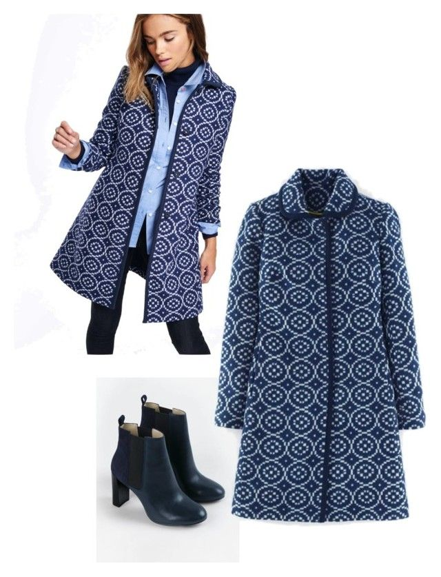 """Boden coat"" by stepford-wife on Polyvore featuring Boden, women's clothing, women's fashion, women, female, woman, misses and juniors"