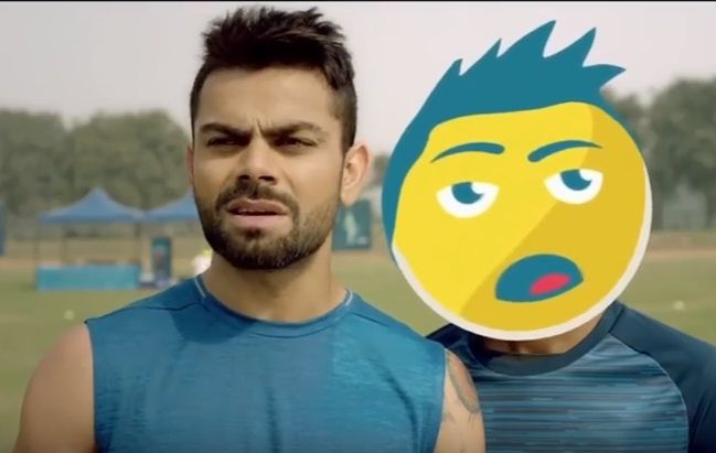 Howley.in http://howley.in/lets-ad-up/pepsi-thi-jeet-gaya-virat/ #Funny #Cricket #Virat #Pepsi #Lol #Howley The famous ad !!! Virat - @Howley.in Video Source:https://www.youtube.com/watch?v=uwwDb3eFFpA