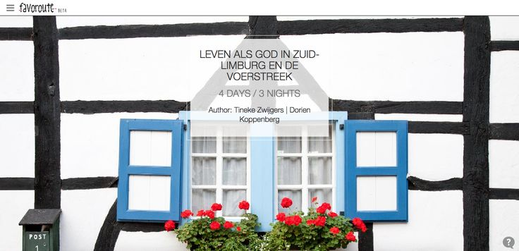 LEVEN ALS GOD IN ZUID-LIMBURG EN DE VOERSTREEK by Tineke Zwijgers and Dorien Koppenberg.  http://www.peecho.com/print/en/73205