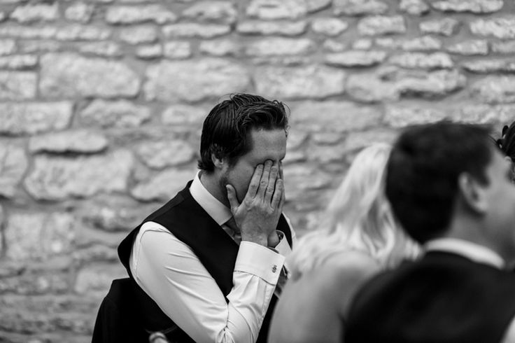 Hearing all those embarrassing and funny stories during the speeches. Photo by Benjamin Stuart Photography #weddingphotography #speeches #weddingfun #blackandwhite #ohno
