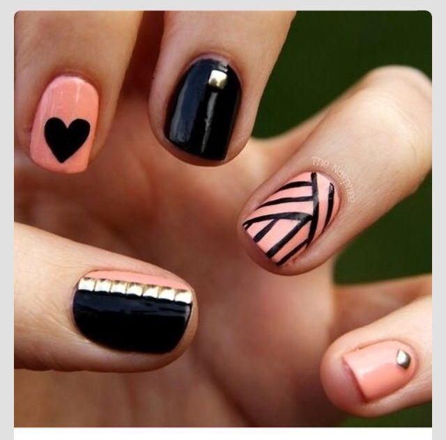 Mejores 442 imágenes de Uñas en Pinterest | Diseño de uñas, Uña ...