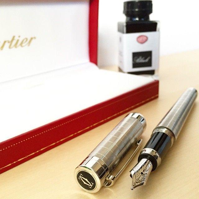 Gorgeous Cartier Pasha fountain pen! cecicat's photo on Instagram