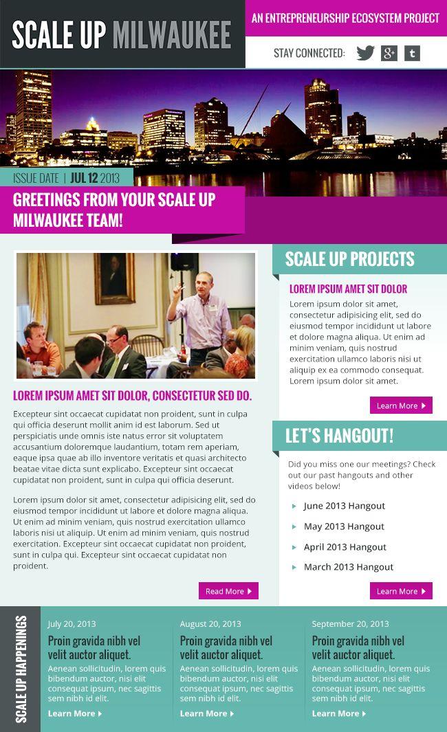 Newsletter Design Ideas medical clinic newsletter template Bright Email Newsletter Inspiration Design Emarketing
