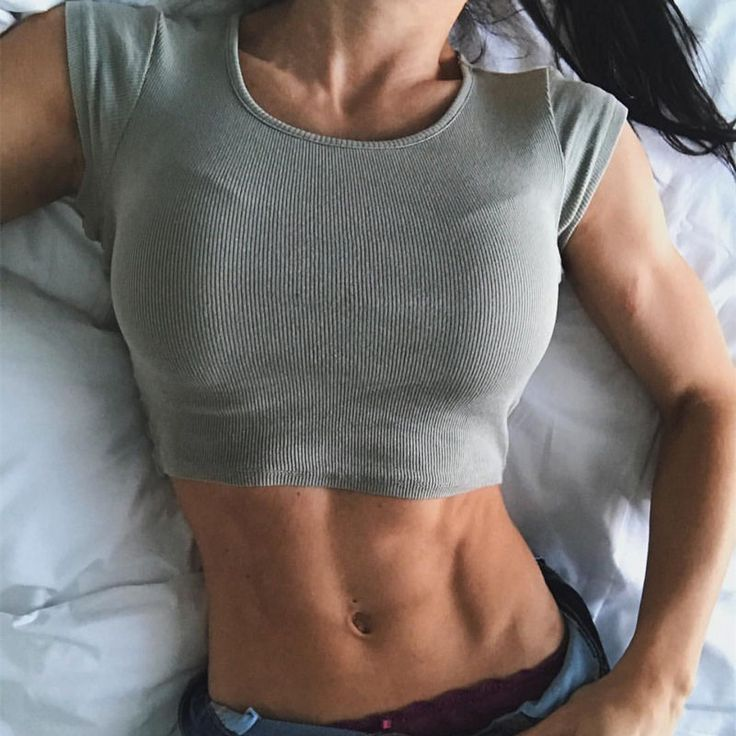 2017 Womens Fitness Yoga Gym Workout Running Sports Short Sleeve Crop Top Tank