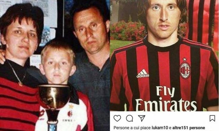 "PHOTO: Real Madrid's Luka Modric ""Flirts"" With Milan"