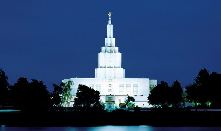 Idaho Falls, Idaho is the house of the Lord where my husband and I were sealed.