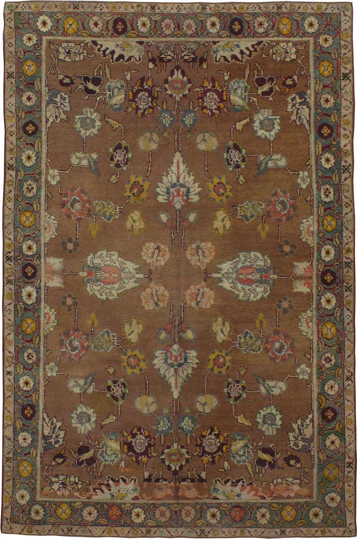 Item Title:Antique Agra Carpet,Item Number:16648,Item Size:(1.76 x 2.72m)