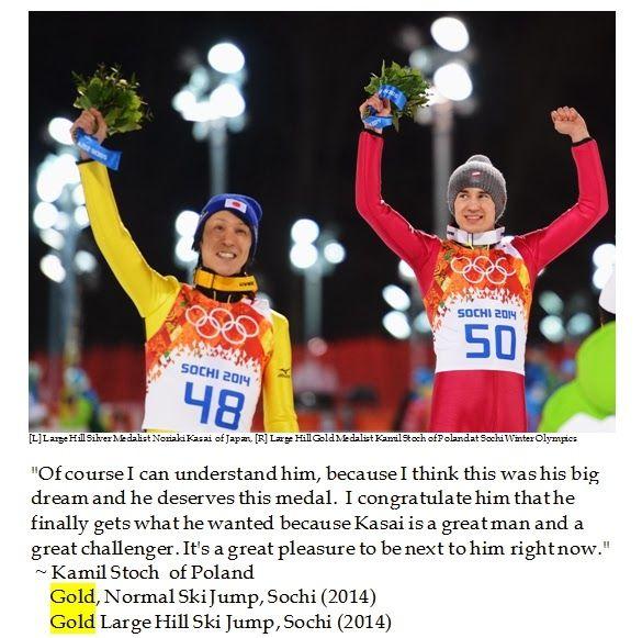Silver Lining for Veteran Ski Jumper Noriaki Kasai in Sochi