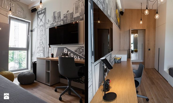 Atrium Park 110m2 - Pokój dziecka, styl nowoczesny - zdjęcie od Interno