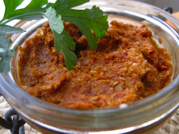 paté végétal aux tomates séchées et graines de tournesol