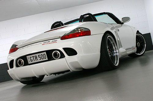 Porsche Boxster 986 modified