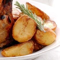 Delia's Roast Potatoes -- I lived in London for 8 years and was introduced to Delia Smith (UK equivalent to Martha Stewart / Julia Childs) and her duck fat roasted potatoes.  I am a convert!