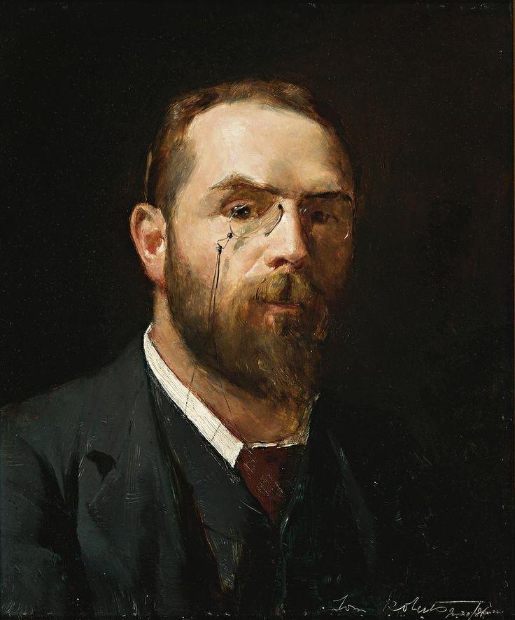 Tom Roberts (Australian, 1856-1931),Self-portrait (Aged 30), 1886