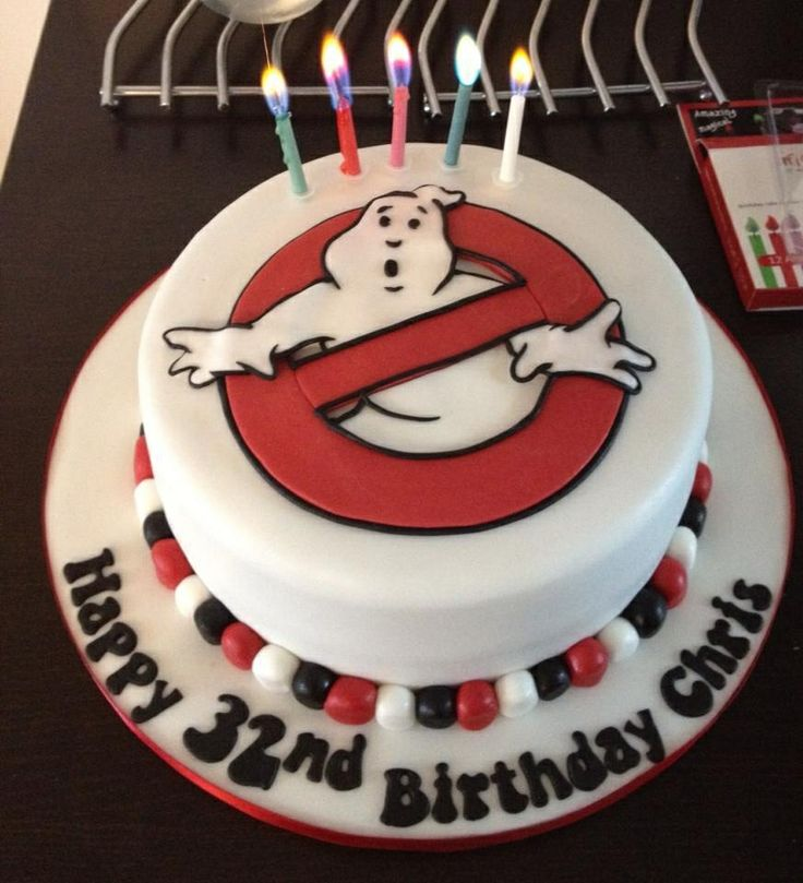 Ghostbusters Logo Birthday Cake Ghostbusters Everything