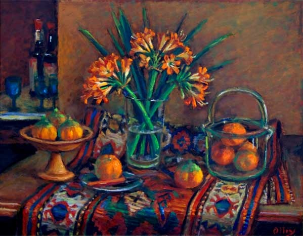 Margaret Olley Cliveas and Mandarins