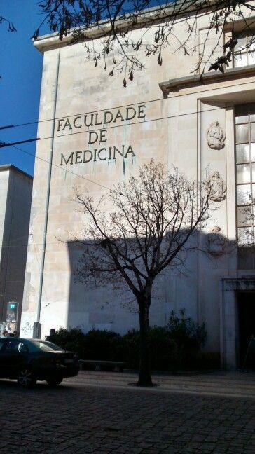 Fachada da Universidade de Coimbra/ PT 2015