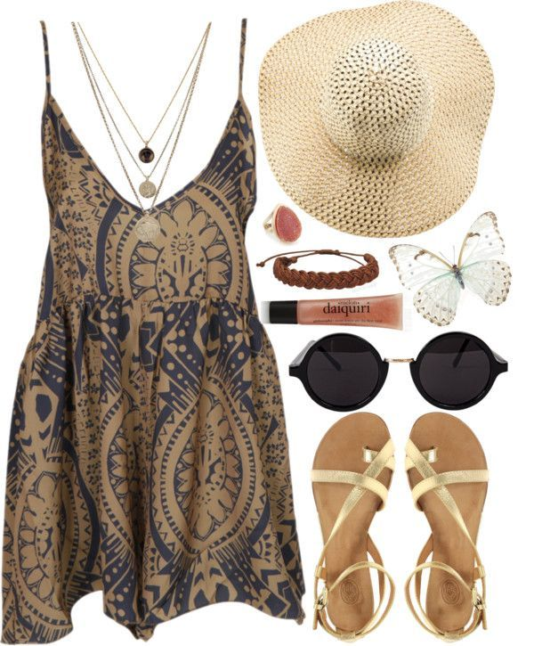 Top 11 Cute Boho Dress Outfits For Spring Summer – Pretty Fashion Trend Tip - Bored Fast Food