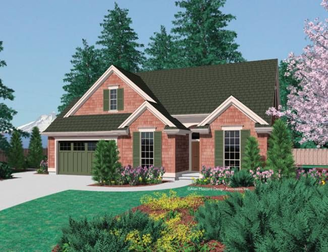 One of my favorite home designs: Mascord Plan 1148 - The