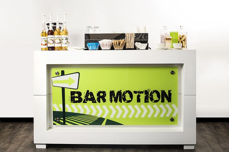 Bar Motion offers a variety of mobile bars for training days, expos, road shows, product launches & other corporate and/or private events.