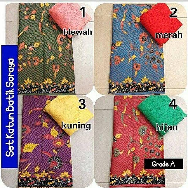 . SET KATUN PREMIUM 125rb . ��kain asli dr Bali Murah Meriah SATU SET 125rb ��SATU SET : brukat sofia (1.4×1.5m) + kain katun (2×1.1m) . ��BRUKAT SOFIA : tebal, strait, tidak kasar ��KATUN : batik, bahan adem, tebal, lembut, bisa untuk kemeja, rok, dress, sragam dll . ��motif brukat tergantung stok yg tersedia, warna tetap sama ��bisa beli terpisah BRUKAT 40rb/m,  KATUN 85rb (2×1.1m) ��grosir/reseller lebih murah lagi �� . ��order/tanya2 Wa : 085708688222 Bbm : 7B4EC2F6 Line : novava_sari…