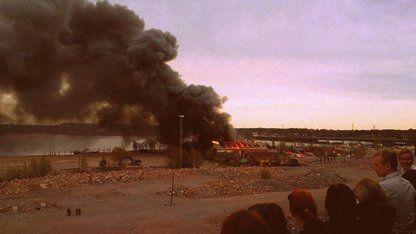 Fire in Helsinki, Kalasatama
