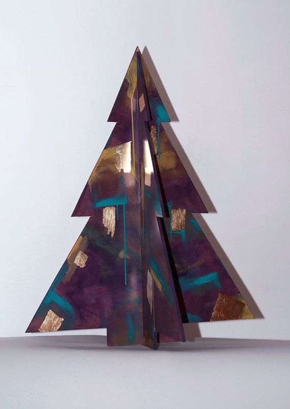 Artistic Christmas tree by ValtaKunta on Etsy