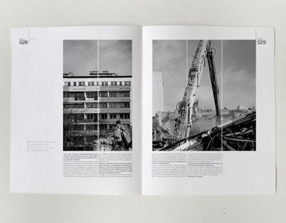 """Popatrz na ten projekt w @Behance: """"Projekt layoutu magazynu o architekturze"""" https://www.behance.net/gallery/8014525/Projekt-layoutu-magazynu-o-architekturze"""