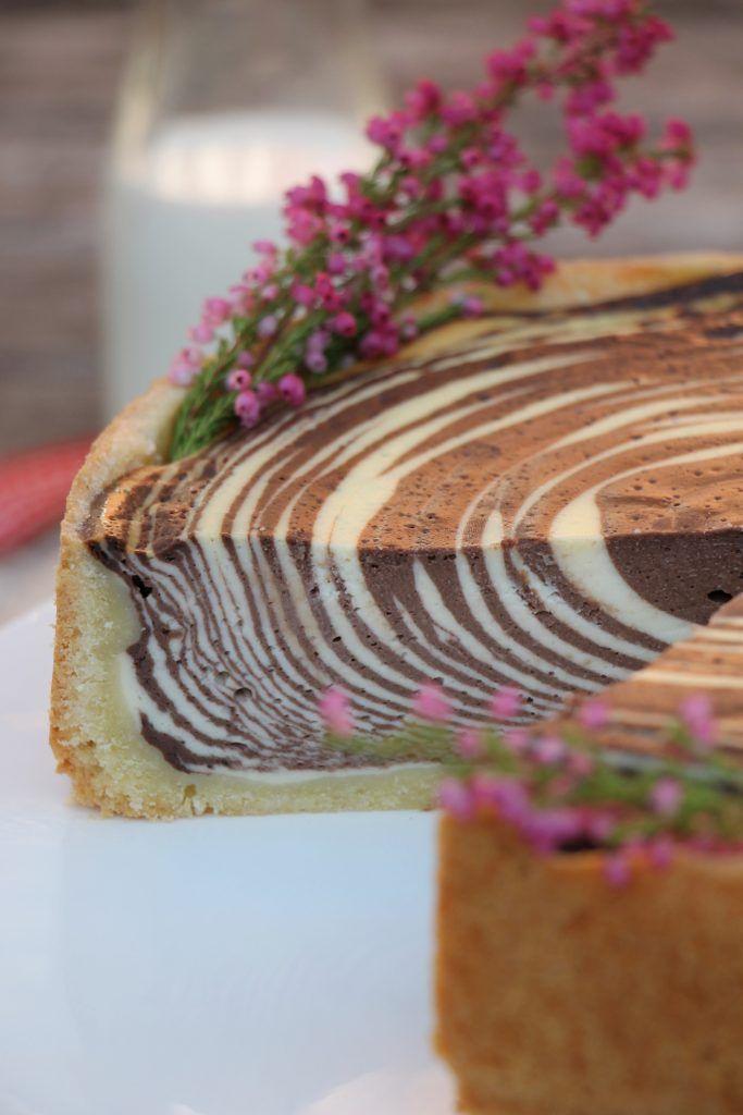 Rezept Zebrakuchen Oder Kasekuchen Mal Anders Kuchen Backen