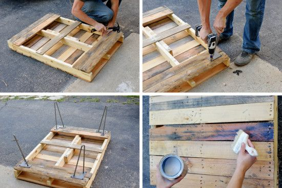 pallet coffee table                                                                                                                                                                                 Mehr