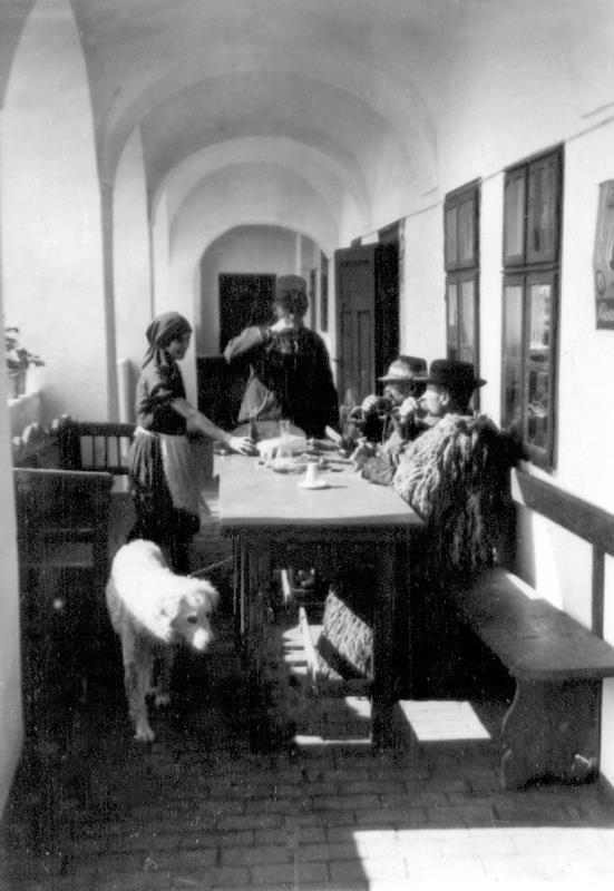 Juhászok a hortobágyi Csárdában 1930-as évek