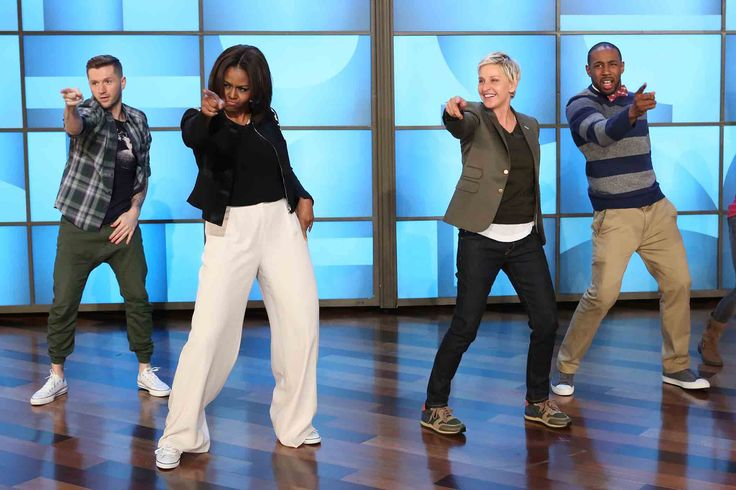 "The first lady is marking the fifth anniversary of her ""Let's Move"" campaign with a dance to the popular song ""Uptown Funk."""