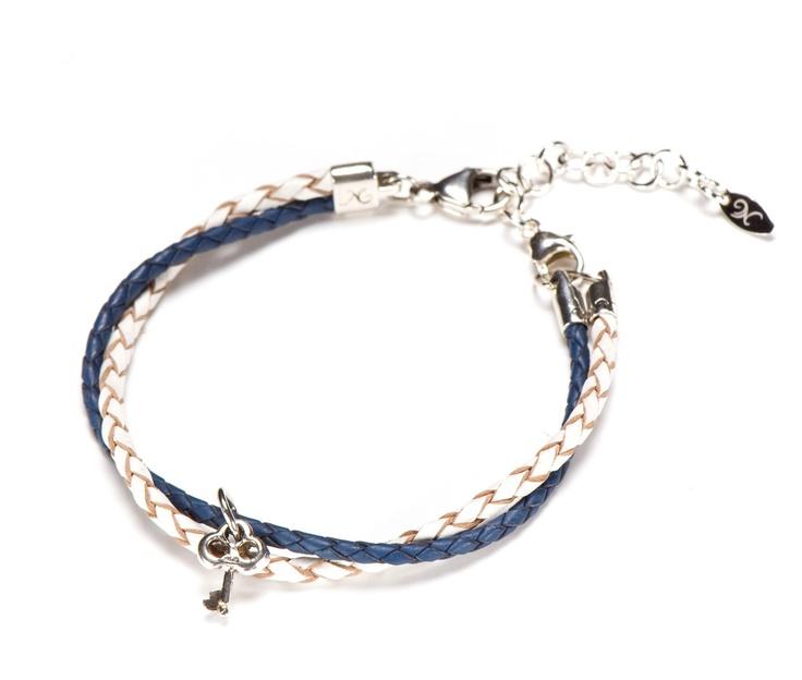 Dockside Leather Limited Edition - Maritime Blue Bracelet