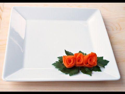 DIY: Trandafirasi din morcov