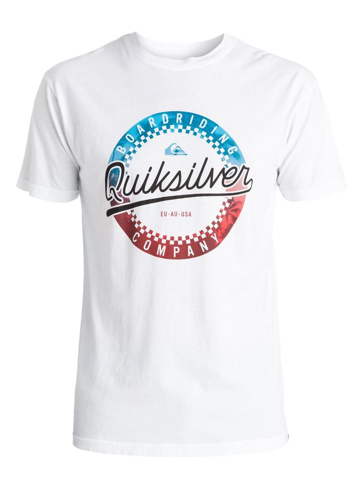 quiksilver, Iced Donut T-Shirt, WHITE (wbb0)