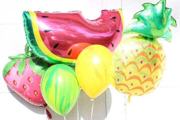 Fruit Foil Balloons Such as pineapple foil balloon, watermelon foil balloon and strawberry foil Balloon
