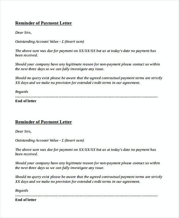 Due Payment Reminder Letter Invoice Reminder Template Invoice Reminder Template Tips And Plans If You Have Sent Business Letter Template Lettering Reminder