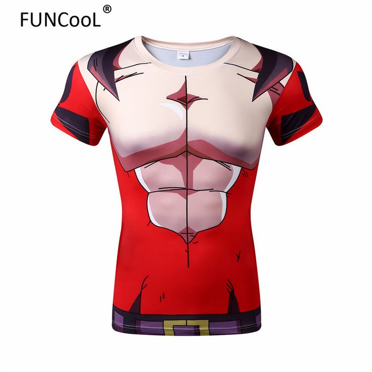 Dragon Ball GT SSJ4 Vegeta Super Saiyan 4 3D T-shirt
