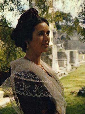 Odile Pascal 10ème Reine d'Arles (1978-1981)