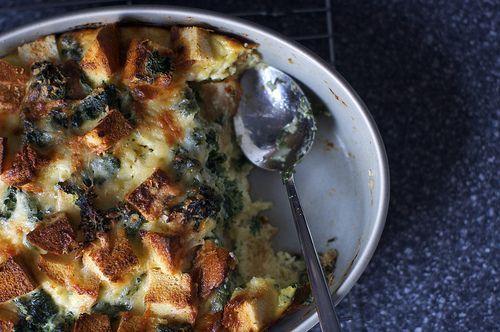 Spinach and Cheese Strata VI Recipe