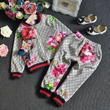 Fashion Jacket Coat+Pants Sport Suits Children Clothes Sale Price:  US $17.90
