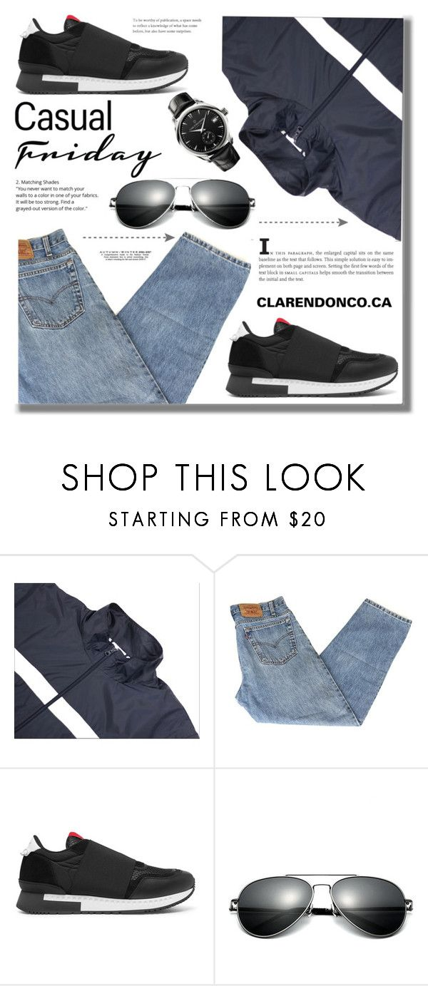"""""""CLARENDONCO.CA"""" by edita-n ❤ liked on Polyvore featuring adidas, Givenchy, Carl F. Bucherer, vintage, men's fashion and menswear"""
