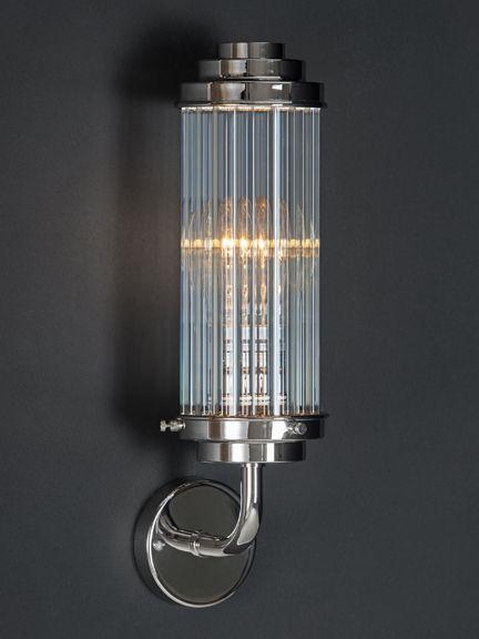 Glass Reed wall light, Glass Reed wall light - Holloways of Ludlow