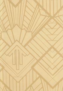 Schol - Geometric Wallpaper Fabric Art Deco Wallpaper Fabric Bars & Pubs Wallpaper Fabric - Chameleon Collection £50