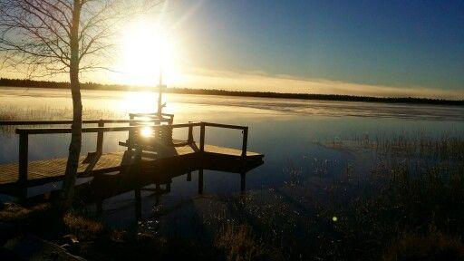 Lake Ylläsjärvi, Lapland.