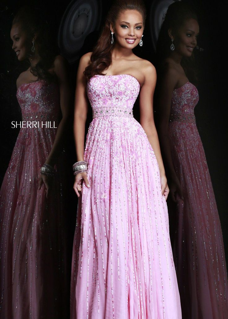 39 best Pink prom dresses images on Pinterest | Pink prom dresses ...
