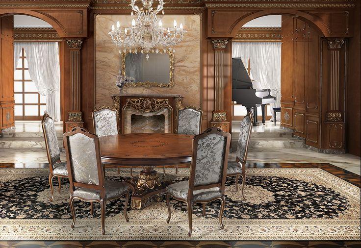 ARETUSI Classic dining room furniture