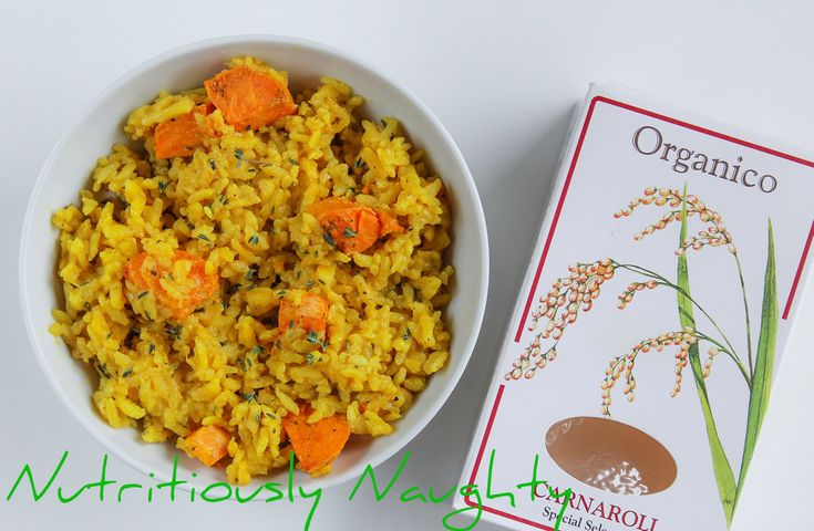 This delicious and satisfying sweet potato & turmeric risotto makes the perfect gluten free, low FODMAP and vegan comfort food dish.